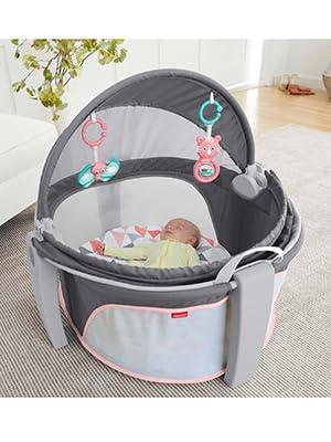 e45cb028dbed Amazon.com   Fisher-Price On-The-Go Baby Dome