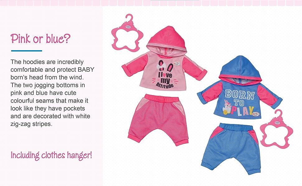 BABY born Jogging Suits 43 cm