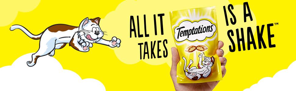Cat treat, cat treats, temptations