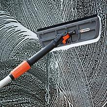 5556-20 GARDENA Wasserstiel-Verl/ängerung mit Gelenk: Wasserf/ührender Stiel f/ür Cleansystem-Anschlussger/äte 53 cm lang bis 45 Grad abwinkelbar