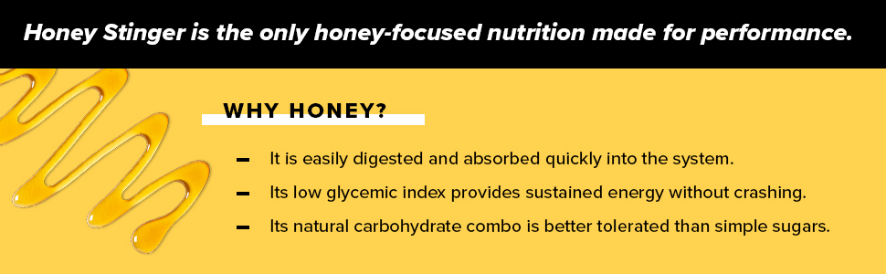 waffle, delicious; honey; workout; flavorful; energy; honey stinger