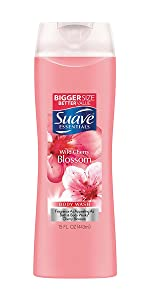 Suave Essentials Body Wash Wild Cherry Blossom