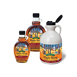 organic grade a dark robust topping cooking strong maple flavor glazes recipes waffles pancakes