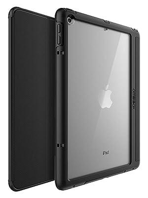 OtterBox Symmetry Folio - Protección de Pantalla con Tapa para Apple iPad 5/6 generación, Color Negro