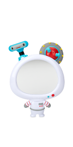 Awesome Astronaut Mirror 3 Piece Interactive Bath Toy Set