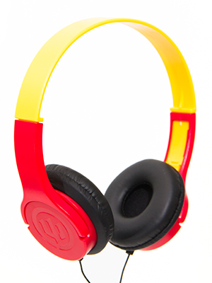 534bfcc4221 Wicked Audio Rad Rascal The Kid Safe Headphones, Ketchup and Mustard ...