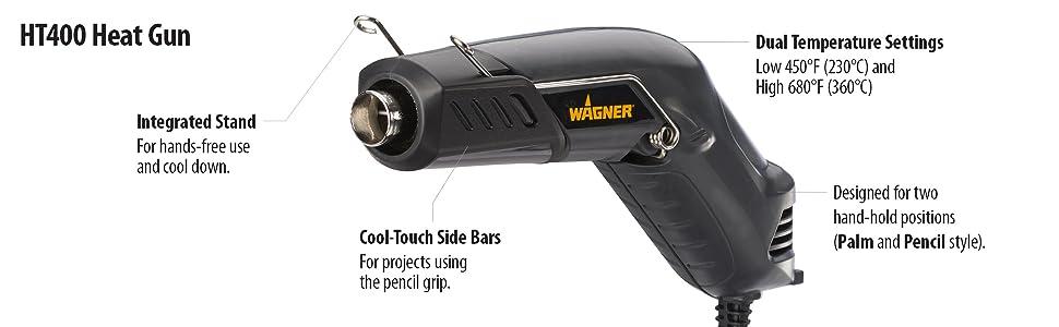 Wagner HT400 Heat Gun Hot Air Tool