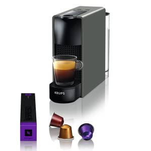 Krups Nespresso XN110B Krups Essenza Mini - Cafetera monodosis de ...