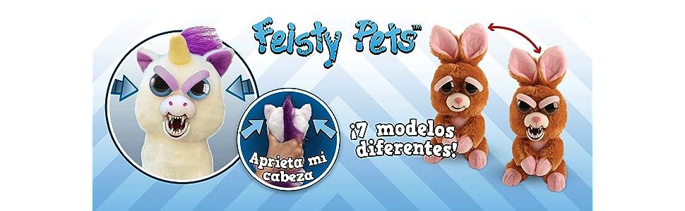 Feisty Pets- Peluche Oso Polar, única (Goliath Games 32326)