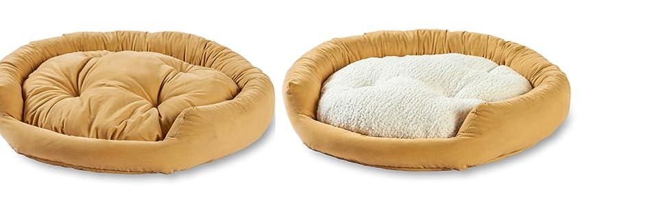 Reversible center pillow