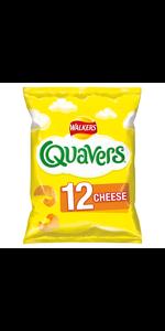Quavers cheese crisps