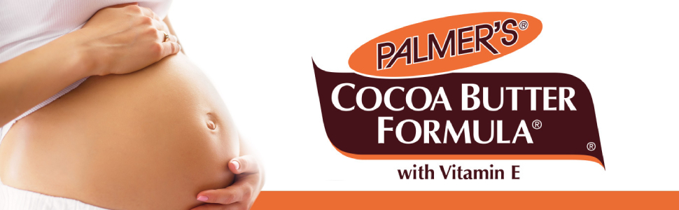 Palmer's Cocoa Butter STRETCH lotion. Choose What's Real.