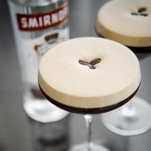 Smirnoff, smirnoffvodka, vodka, no1 vodka, cocktail, espressomartinirecipe