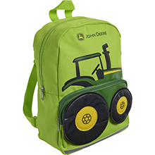 Toddler backpack tractor
