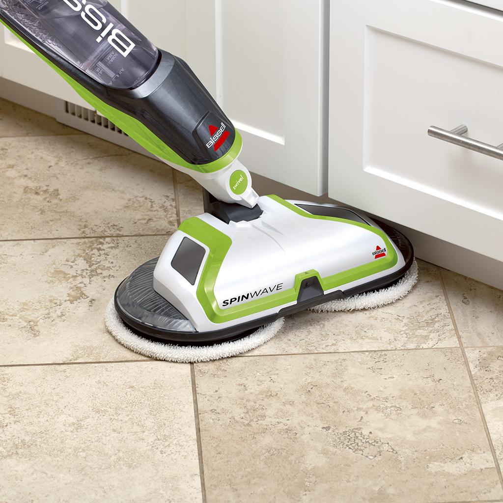 bissell spinwave powered hardwood floor mop and cleaner 2039a home kitchen