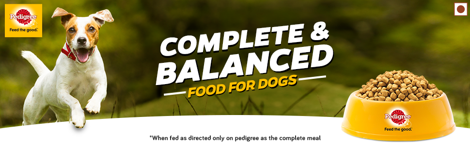 Complete and Balanced food for your dog