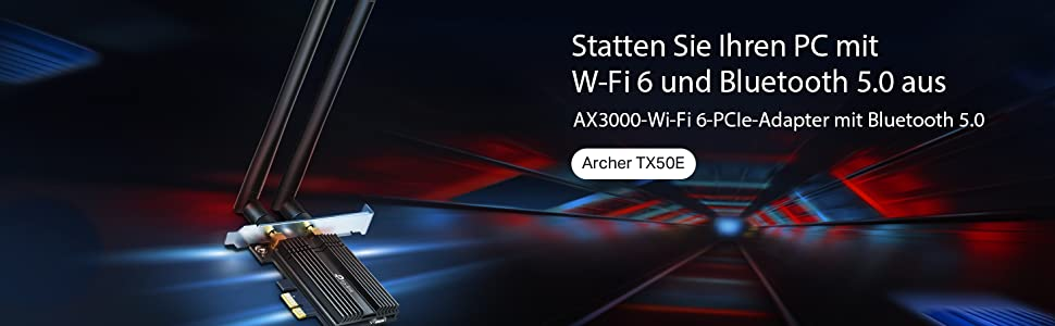Tp Link Archer Tx50e Ax3000 Wifi 6 Pcie Adapter With Computers Accessories