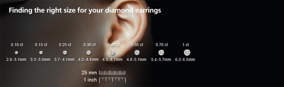 Amazon.com  0.50 Carat Certified Diamond Stud Earrings 80aaf96af1