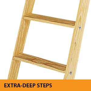 Amazon Com Louisville Ladder S305p Attic Ladder 8 9