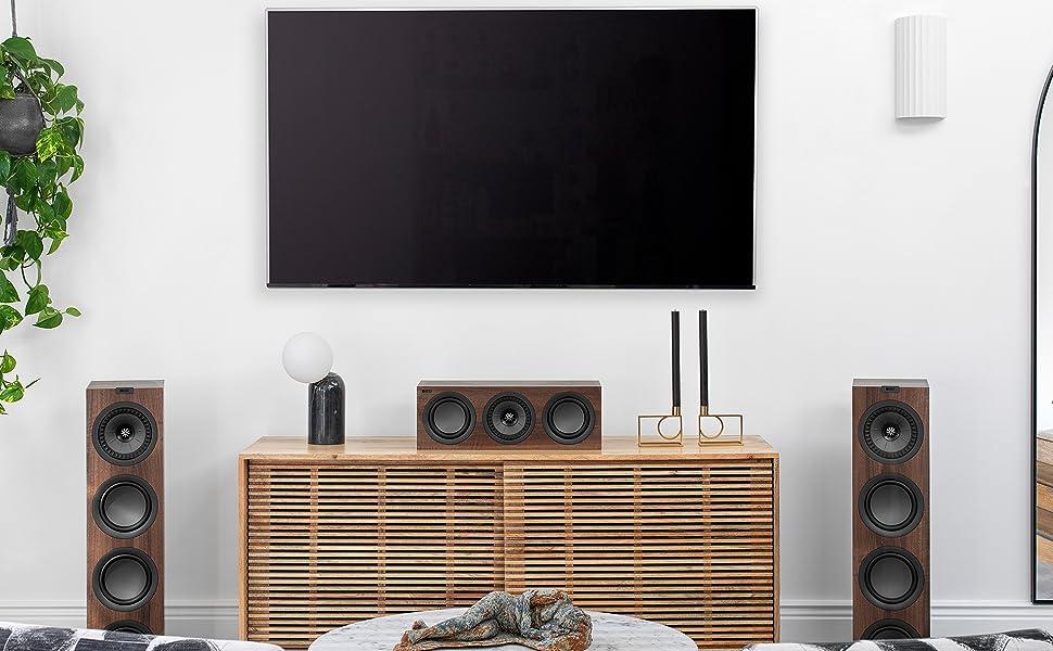 KEF Q250c center channel speaker