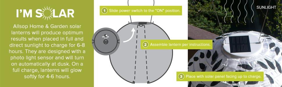 Solar Lantern, Solar Chinese Lantern, Nylon Solar Lantern, Garden Solar,  Chinese Lantern