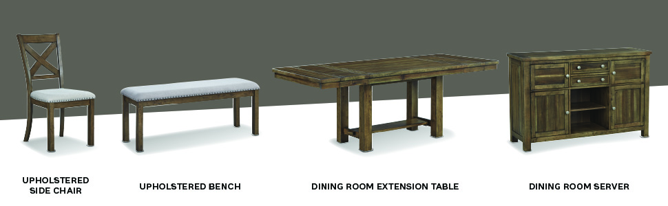 upholstered side chair chairs set of 2 double bench extension counter height table server