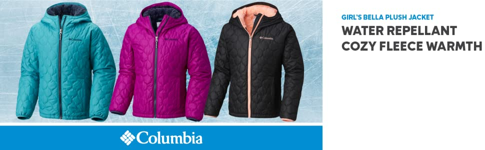 Columbia Girl's Bella Plush Winter Jacket
