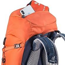 Deckeltasche; Tasche; Außentasche; Deckel; Rucksack; Backpack