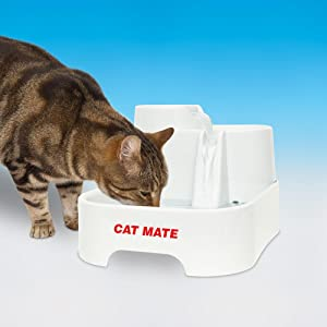 Cat Mate, Dog Mate, Pet Mate, PetSafe, Drinkwell, Pet Fountain, Dog Fountain, Cat Fountain, Filter