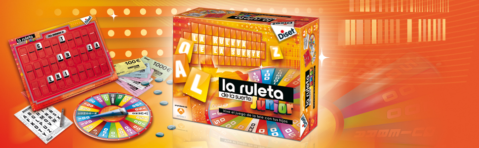 Diset-La Ruleta de la Suerte Junior, única (46204): Amazon.es ...