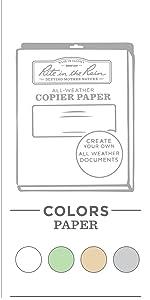Copy Paper amp; Card Stock
