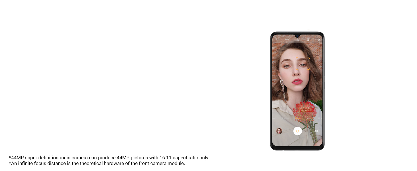 44MP Eye Autofocus Selfie