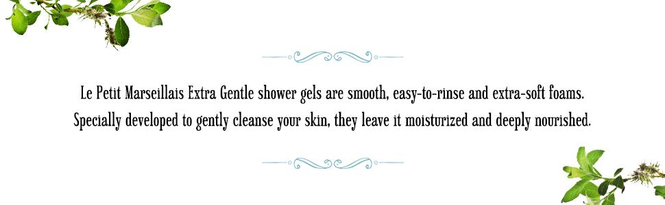Shower soap, shower gel, shower wash, body wash, body care, skin care, face, hands, bath, natural
