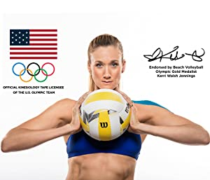 3 Time Olympic Gold Medalist Kerri Walsh Loves Using KT TAPE PRO For VolleyBall