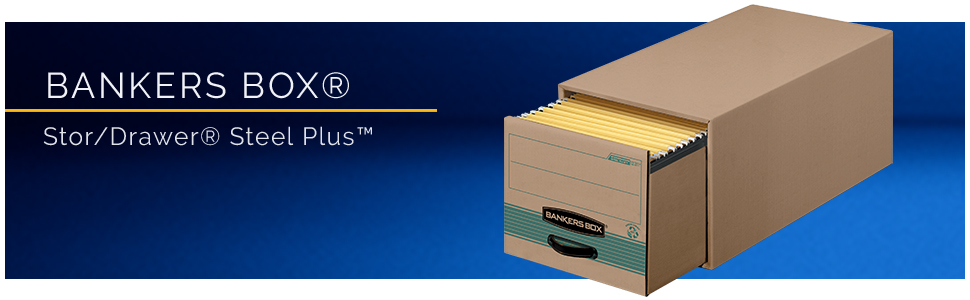 Amazon.com: Bankers Box Stor/File 100% Cajas de almacenaje ...