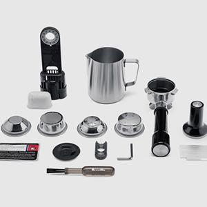 Beigefügtes Zubehör für die Espressomaschine Sage Appliances Angebot