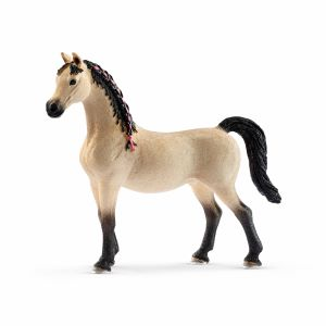 Action Figures Schleich Horse Club English Thoroughbred Horse Toy Figure & Blanket