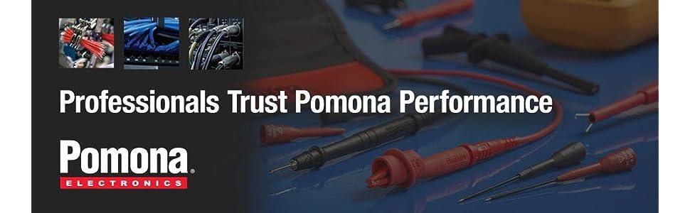 Pomona 1825-5 GREEN SOLDERLESS STACK BANANA PLUG 10//PKG
