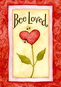 buzz;buzzing;insect;bee;love;heart;flower;valentine;valentine's;cute;romantic;romance