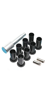 JK Wrangler Door Bushing Removal Tool Hinge Liners and 2 Pins Guides