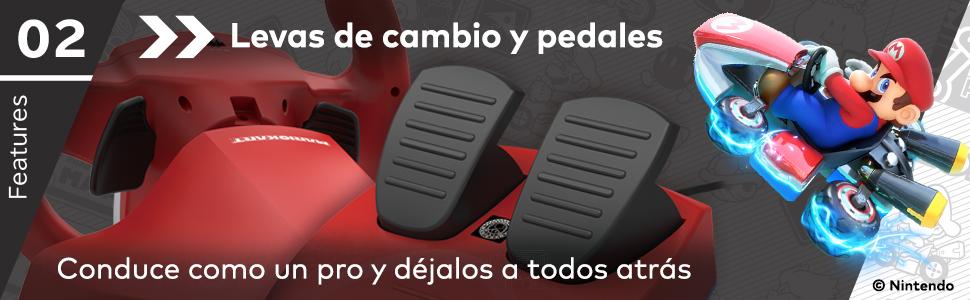 HORI - Volante Mario Kart Pro Mini (Nintendo Switch/PC): Amazon.es: Videojuegos
