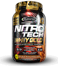 nitro-tech 100% whey gold bottle