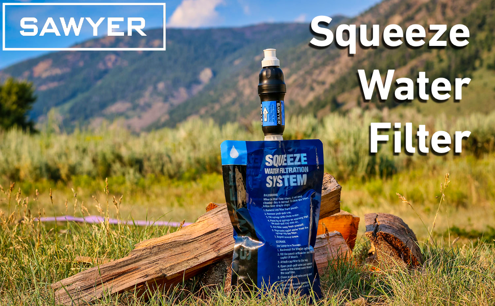 Sawyer Squeeze 0.1 Micron Water Filter