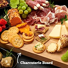 RITZ Crackers Meat and Cheese board