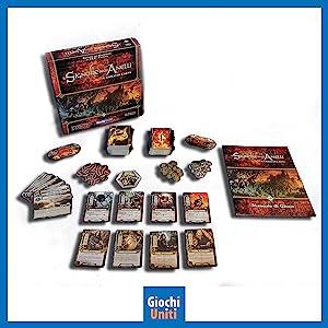 Giochi Uniti Il Signore Degli Anelli I Cavalieri Neri Espansione Per Il Signore Degli Anelli Gioco Di Carte Amazon It Giochi E Giocattoli