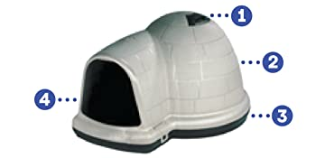 dog houses for medium dogs outdoor, dog house for small dogs, outside dog house, pet igloo,