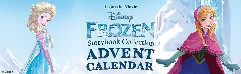 disney frozen story advent calendar