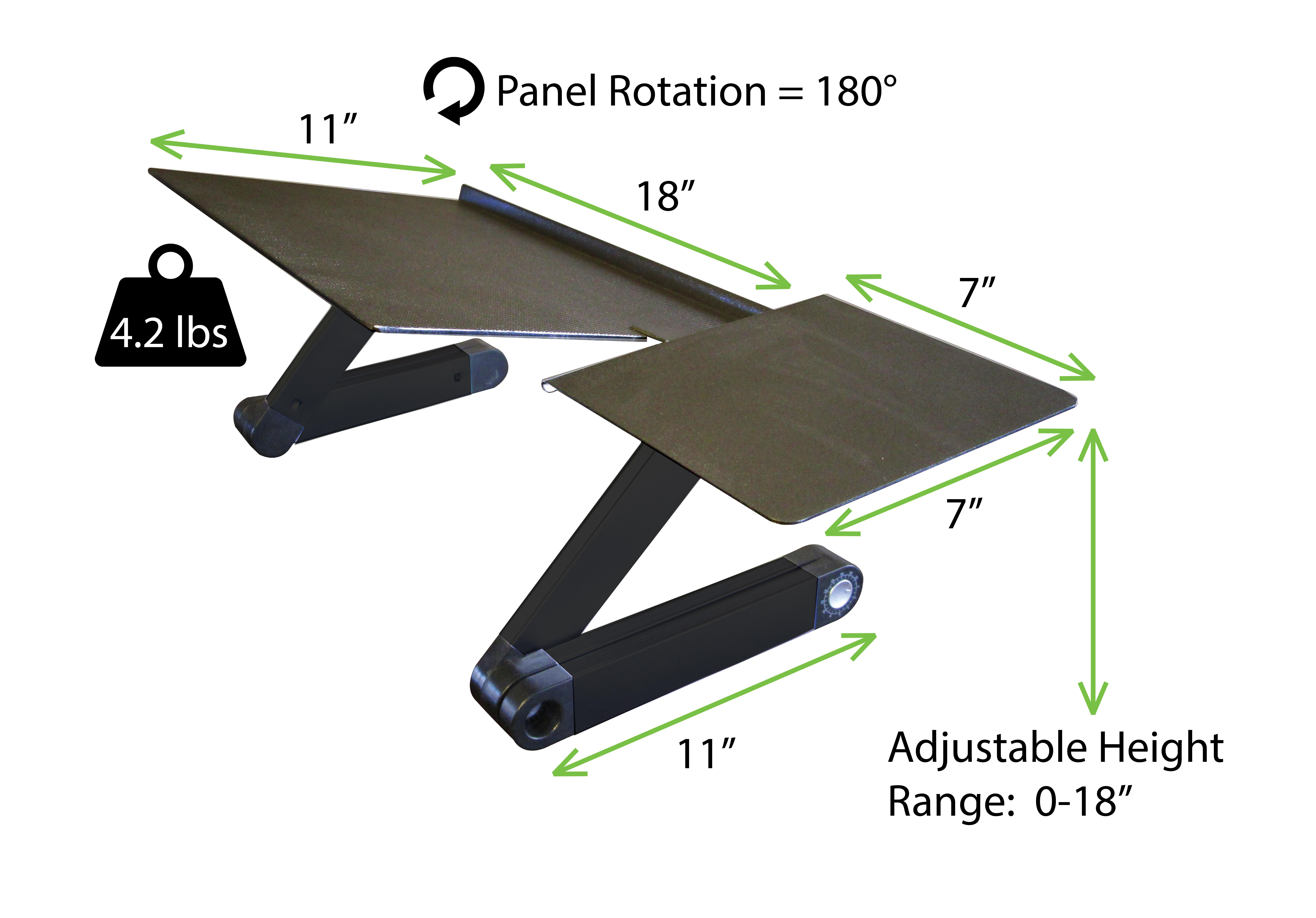 Workez Keyboard Tray Stand Up Adjustable Height Amp Angle