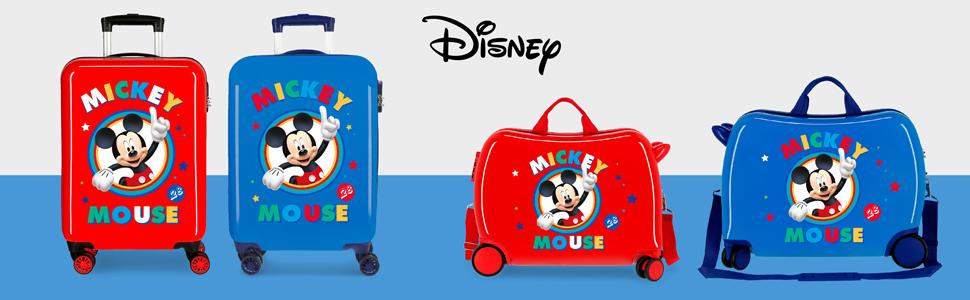 Disney DIYL9 Circle Mickey Infantil Rojo Rosso