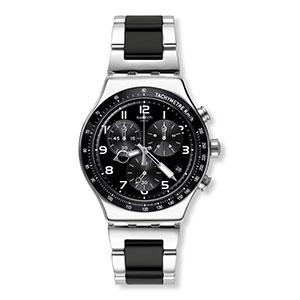 chrono, watch, swatch, metal